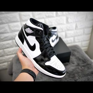 Nike Air Jordan 1 Mid All Star Weekend Black/White